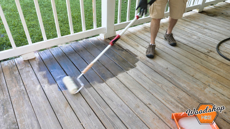 Stripping Deck Finish, Front Porch Renovation