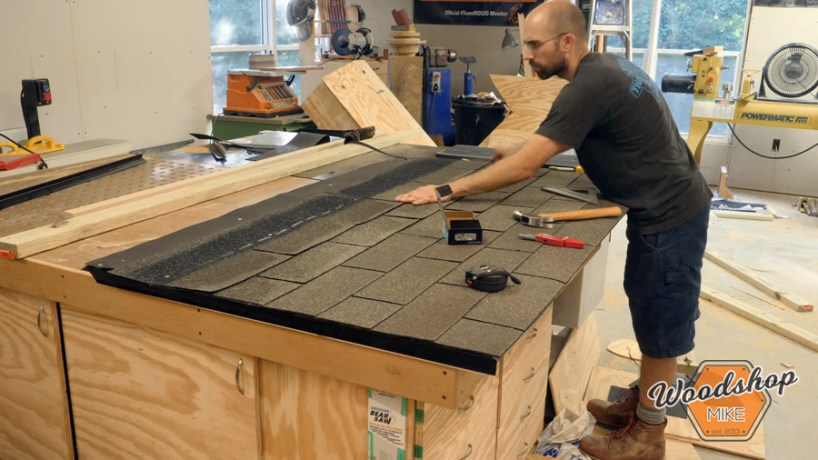 install asphalt shingles on roof _ How to make a DIY chicken coop