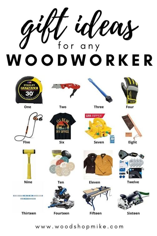 gift ideas for any woodworker