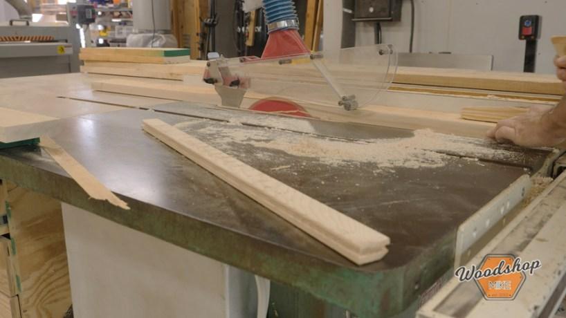 using a glue line rip blade