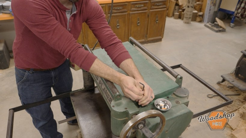 planer maintenance, how to change the blades in your planer