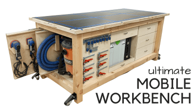 How to Build a Mobile Workbench | Woodworking Plans
