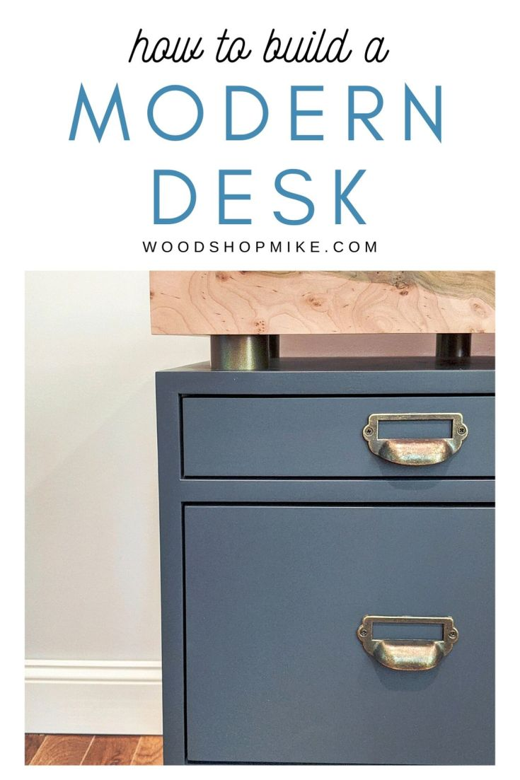 How to Build a Modern Desk