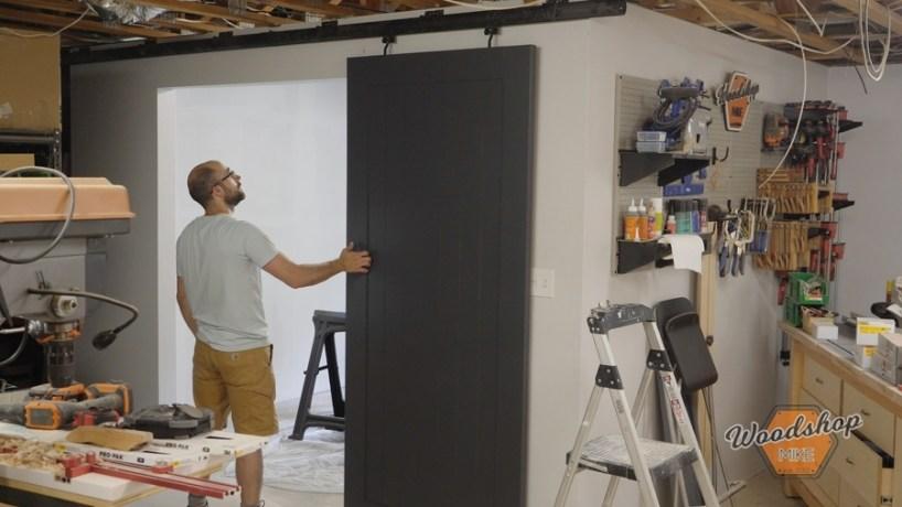 Installing Barn Door