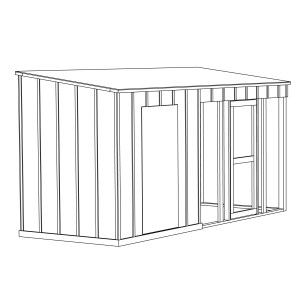 Lean-To Chicken Coop Plans