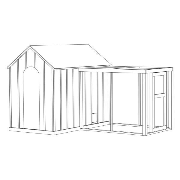 Chicken + Storage Coop, thumbnail
