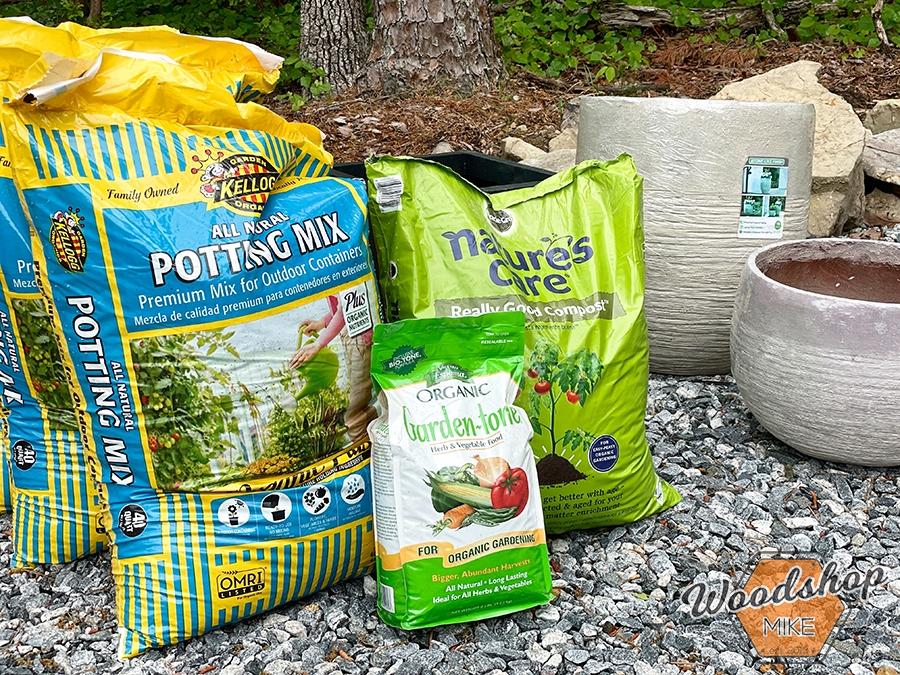 Planter pot garden Outdoor Oasis