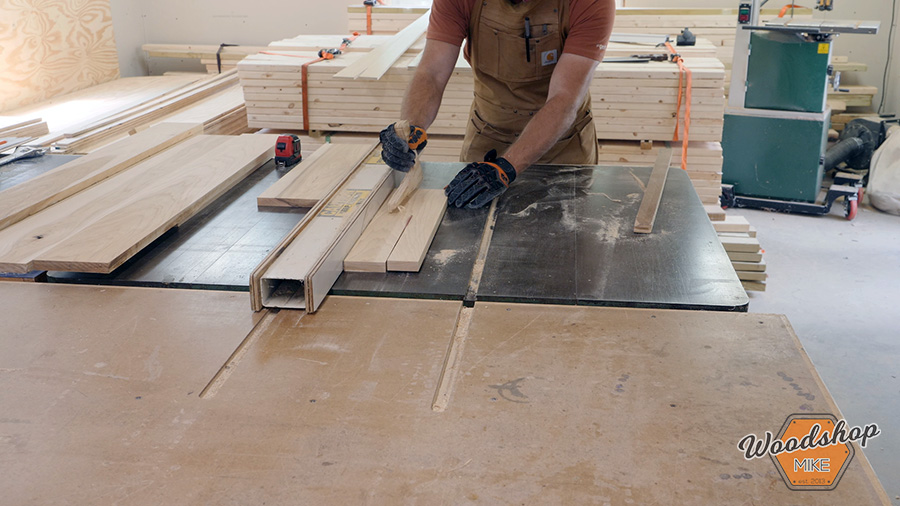 making a cabinet face frame