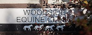 Woodside Equine Clinic Sign