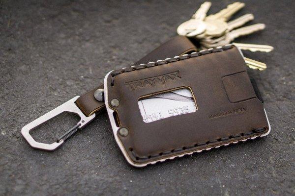 Trayvax Ascent Slim Minimalist Wallet