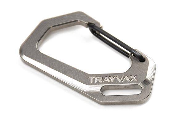 Trayvax Titanium Carabiner