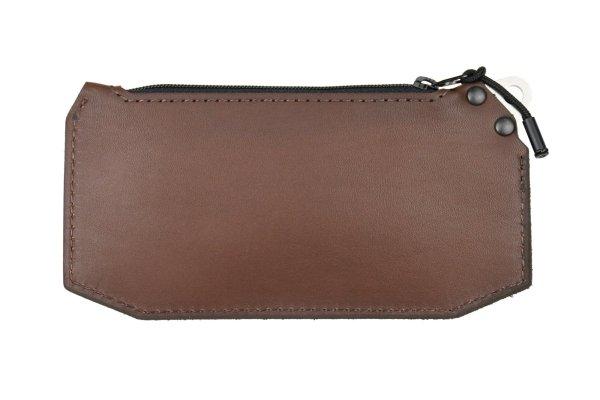 Trayvax Renegade Zipper Wallet Brown