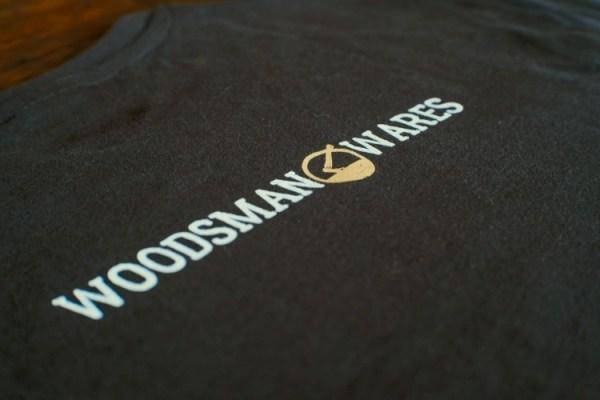 Woodsman Grey Tee