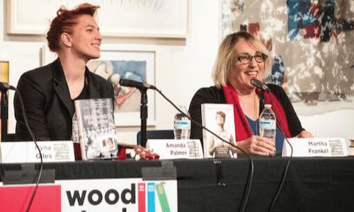 Amanda-Palmer-Martha-Frankel-woodstock-bookfest