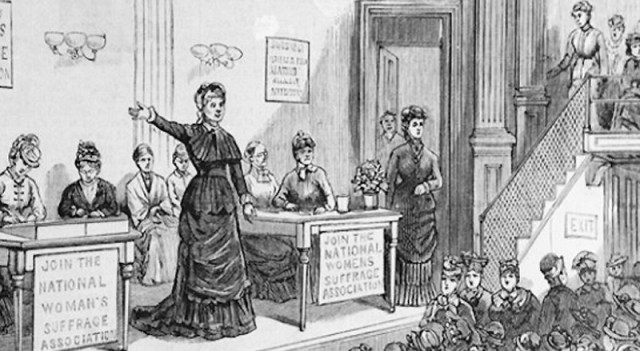 """The Employment of Women at the Treasury & Women's Suffrage"" by treasury_curator is licensed under CC BY-NC 2.0"