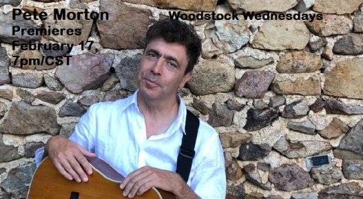 Pete Morton virtually from the UK! Singer songwriter whose songs of social commentary are deeply embedded with music of the British Isles.