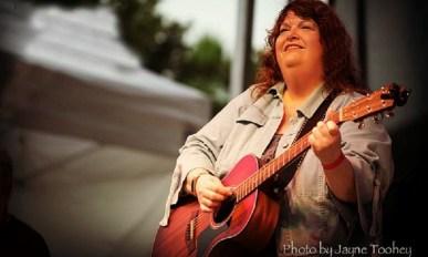 Katherine Rondeau performs at St. Tim's Coffeehouse Skokie, October 9.