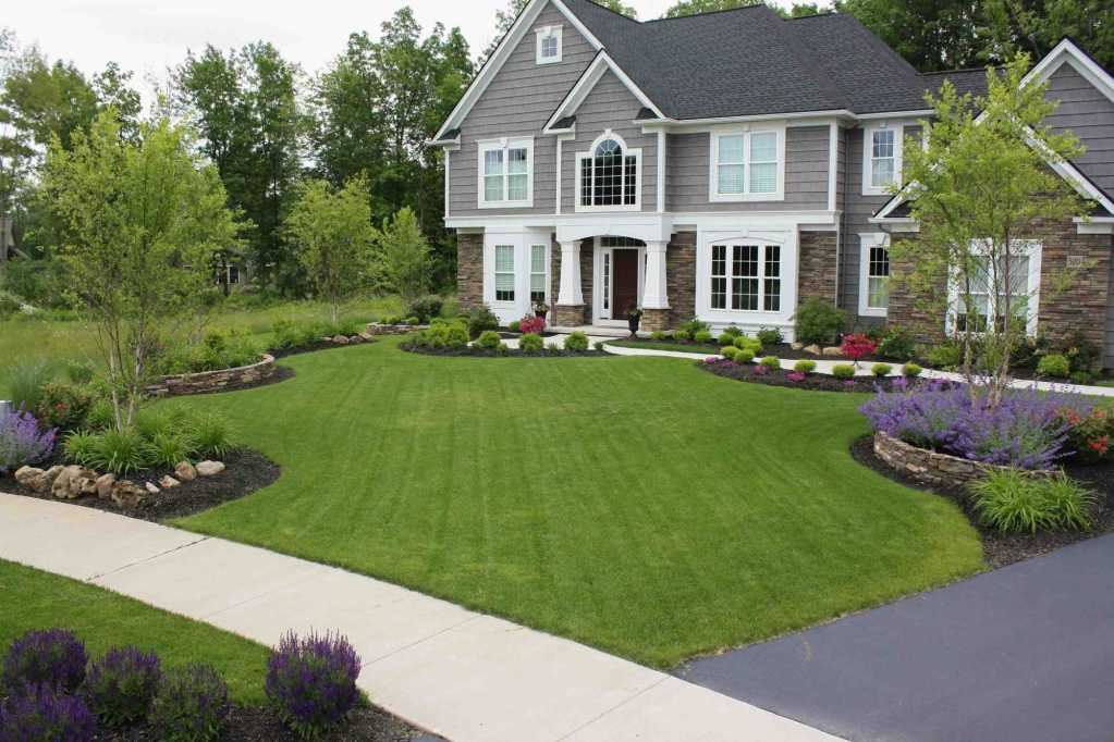 Front Landscaping New Landscaping Example Rochester NY