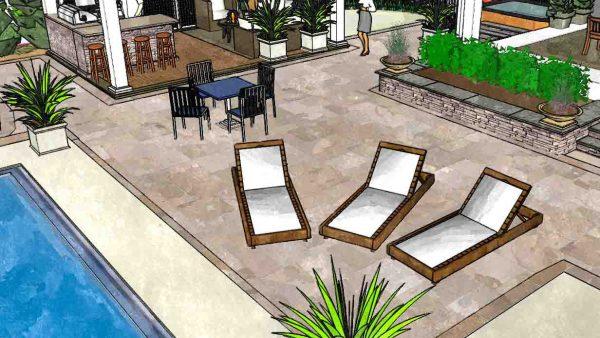 Patio & Backyard Pool Design | Rochester NY | Woodstream ...