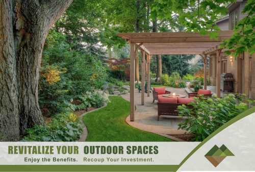 Backyard Landscape renovation makeover adds value