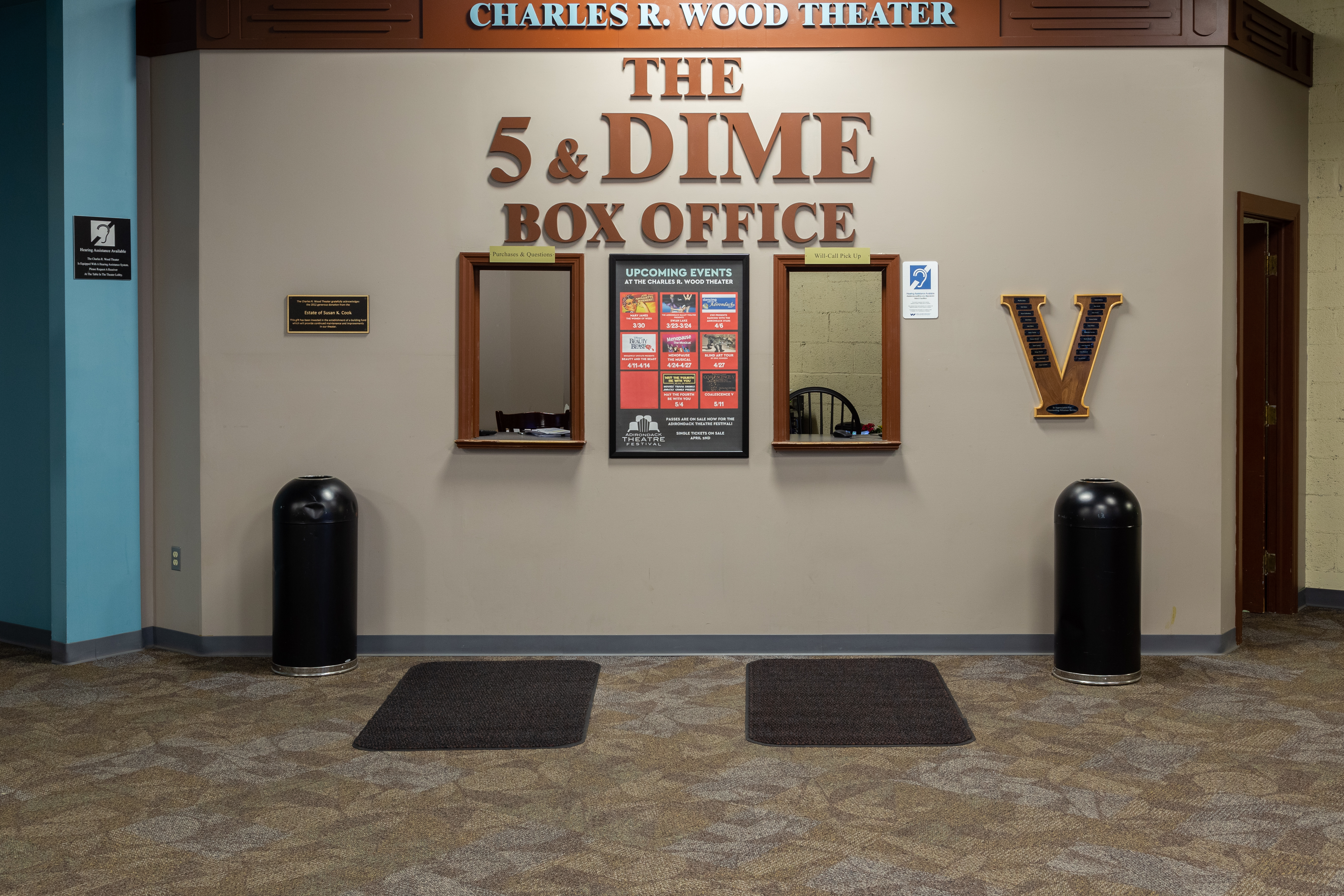 Wood Theater - Box Office