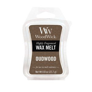 Oudwood-57247 WoodWick Mini Wax Melt