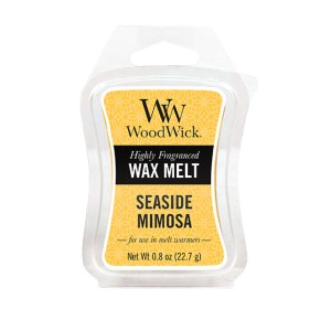 Seaside-Mimosa-57085 WoodWick Mini Wax Melt