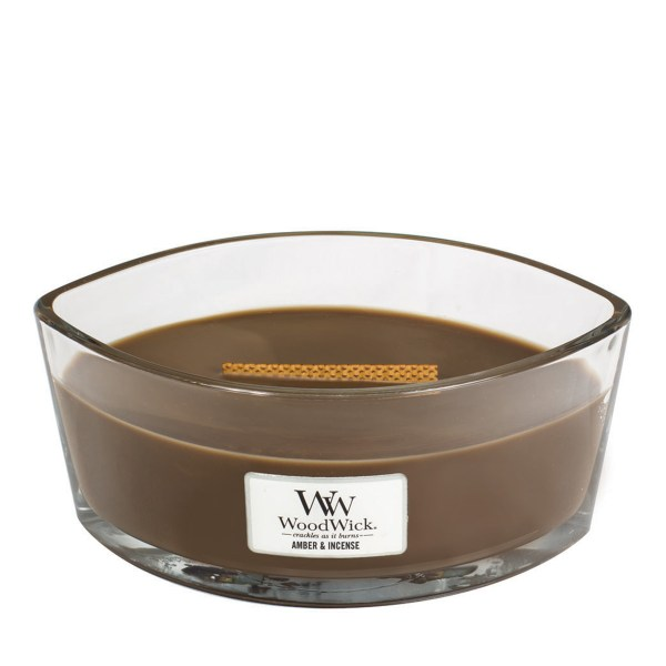 Woodwick Ellipse Amber and Incense E