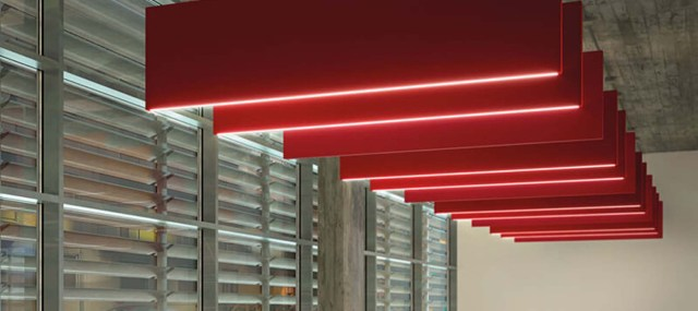 Flag LED Acoustic Panels | Woodwood Group