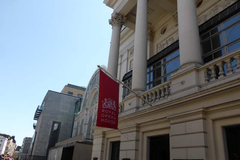 Coat Hanging at the Royal Opera House | Woodwood Group