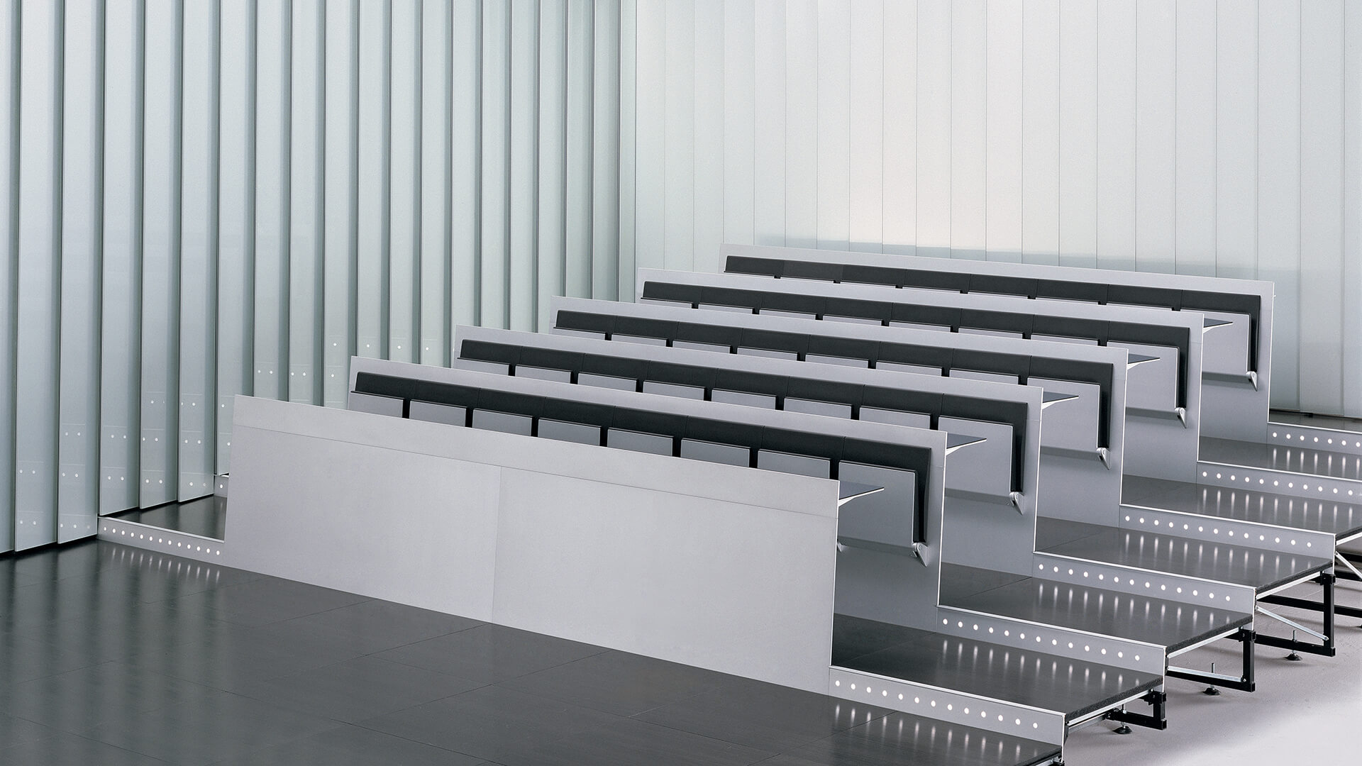 LAMM Blade Education Seating | Woodwood Group