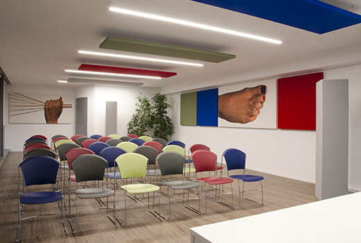 Conference Hall Acoustics   Woodwood Group