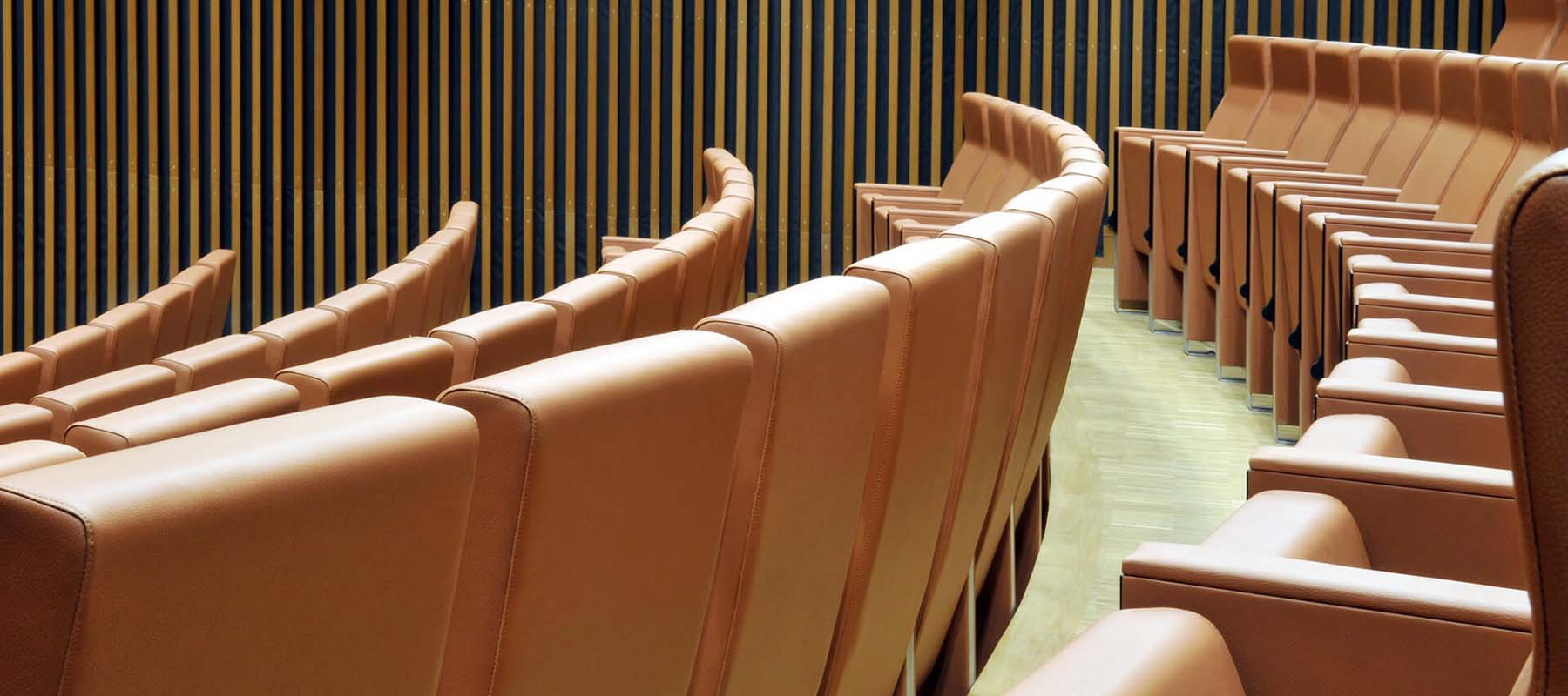 LAMM Conference & Auditorium Seating | Woodwood Group