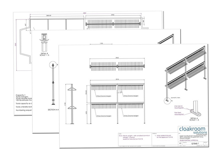 Cloakroom Design | Woodwood Group