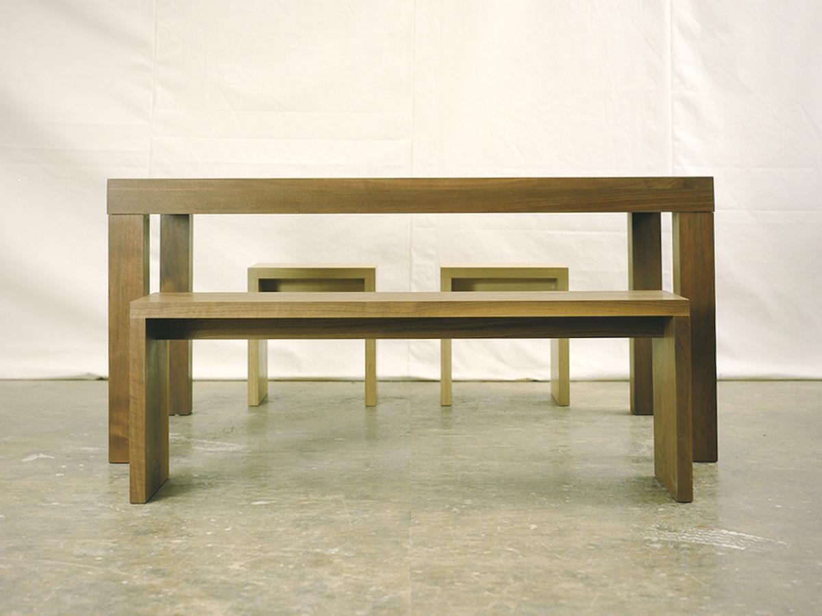 アッツテーブル、アッツベンチ、アッツスツール