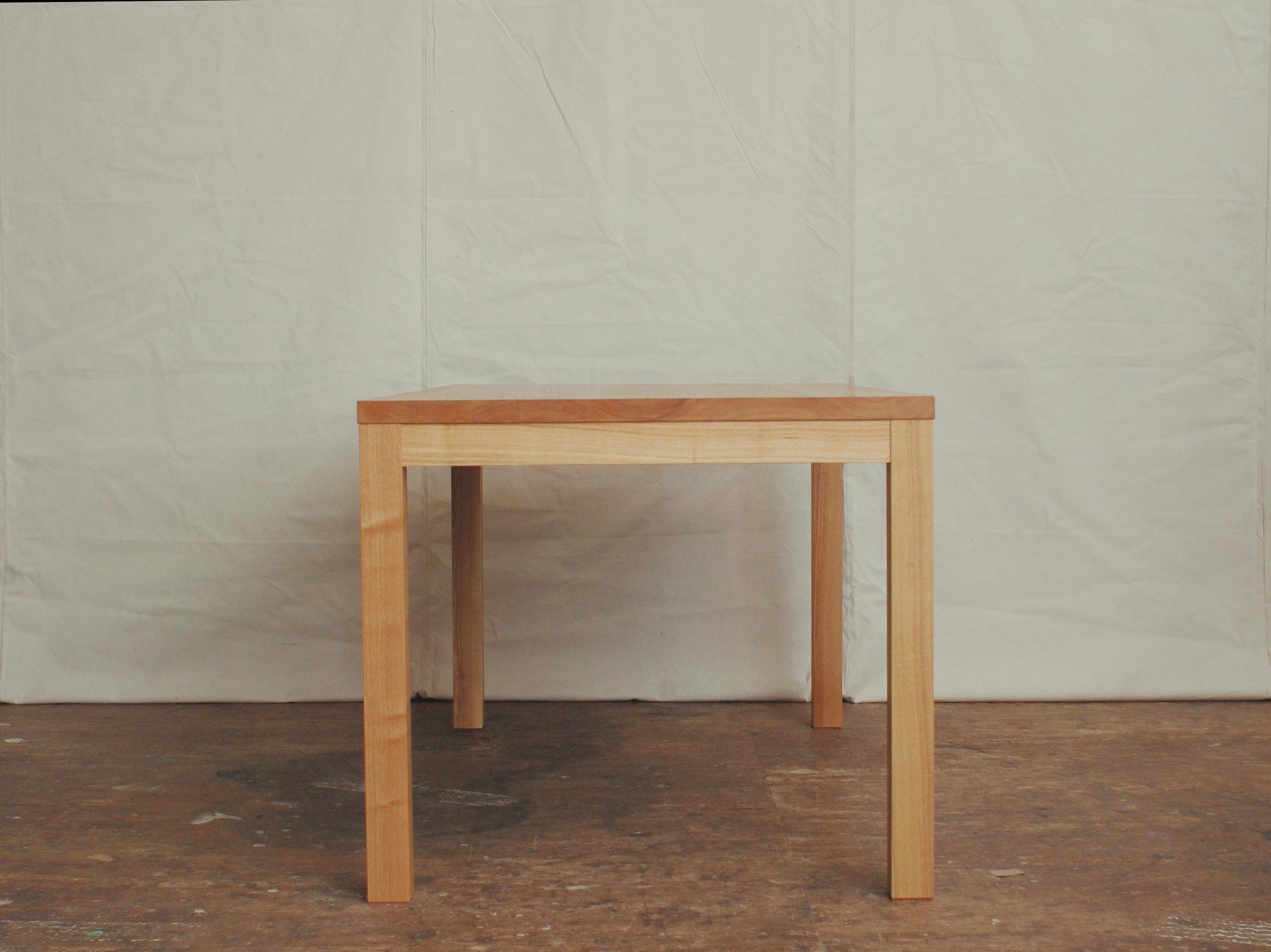 スタンダード 木製 テーブル タモ