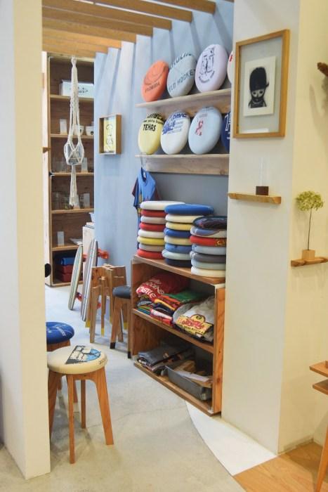 販売中のold clothes stool座面