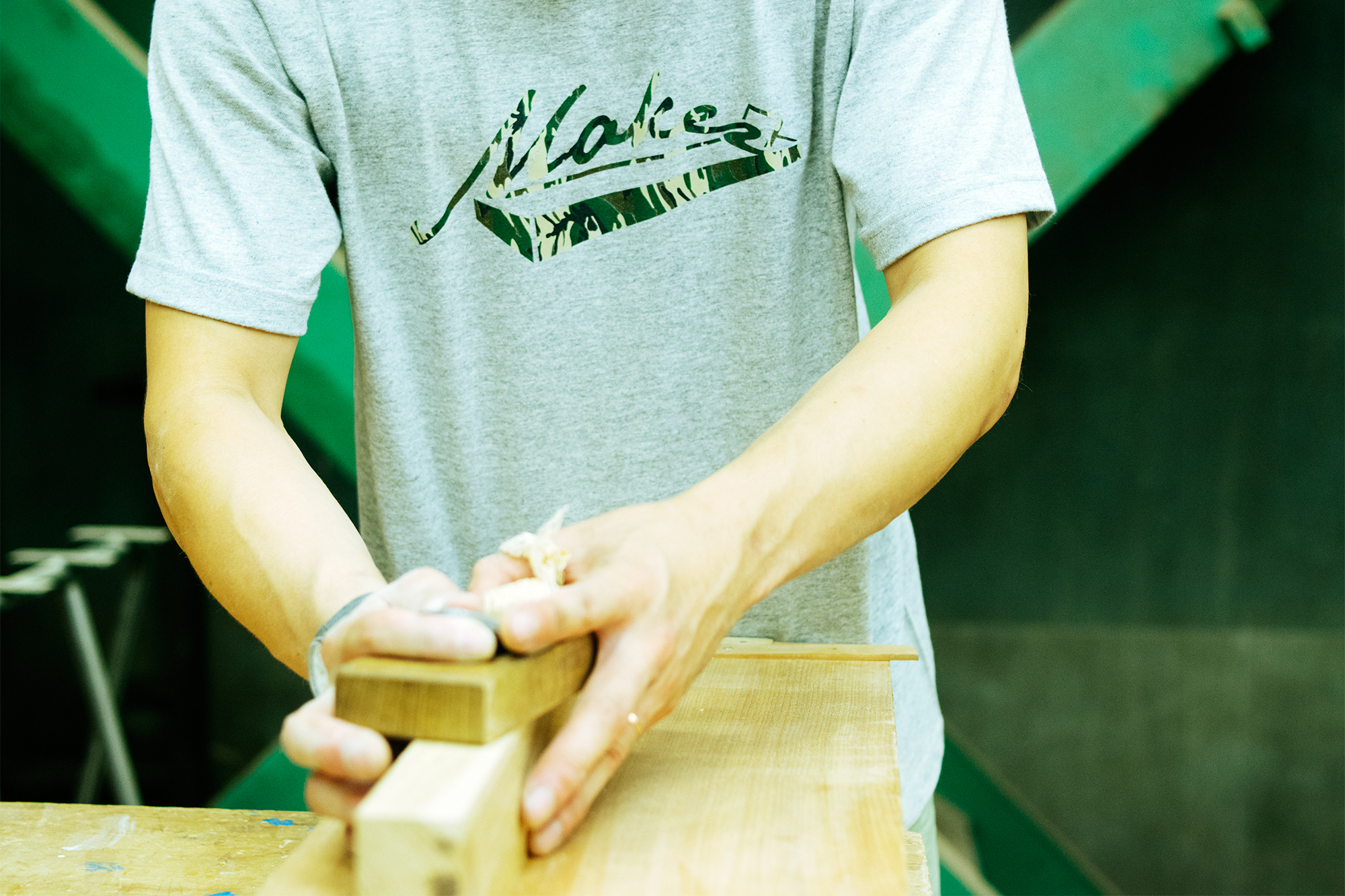 WOODWORKオリジナルデザインのMaker T-shirts