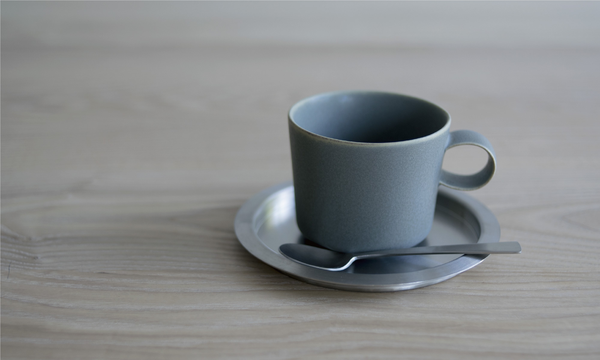 stainless coaster & unjour nuit cup