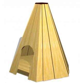 woodwork ab- lekstuga 6-kantig Tipi
