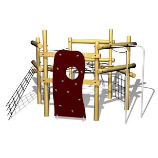 Klättertorn, klättersystem, klätterredskap, woodwork ab
