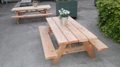 Woodwork AB-bord-bänkset för barn