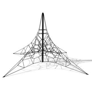 Woodwork AB-Klätterpyramid i stål H:5m