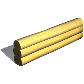 Woodwork AB-Sandlådesarg i robinia, 3-lag