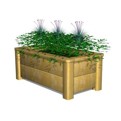 Woodwork AB-blomlåda-odlingslåda