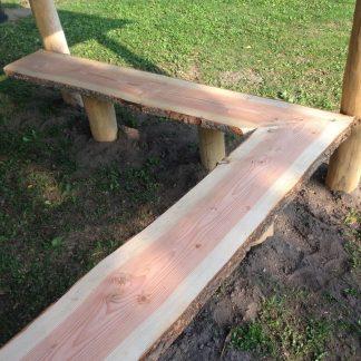 G9017 Bänk till multihus eller grillhus från Woodwork AB