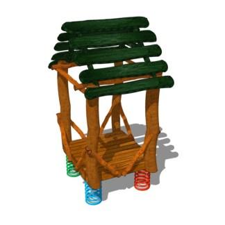 Woodwork AB-Lekhus på fjädrar