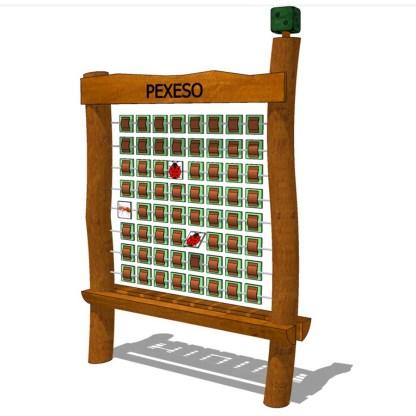 Woodwork AB-memoryspel i trä för skolgården