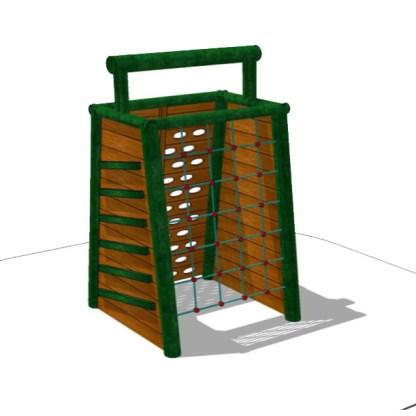 Klätterredskap för temalek - Woodwork AB