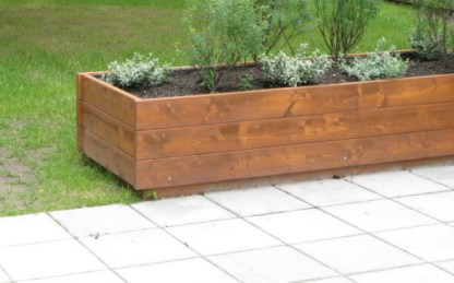 J01-021 Stor planteringslåda från Woodwork AB